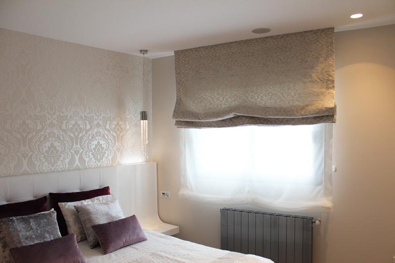 Estores paqueto y plegables cortinas hoku home - Luces de pared para dormitorio ...