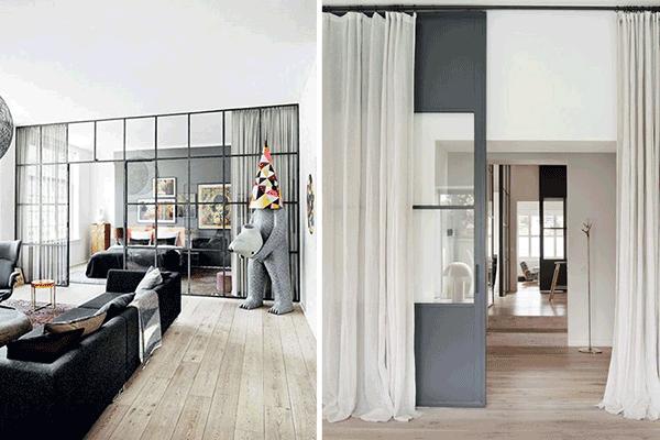 Las cortinas: otros usos que quizá no habías pensado