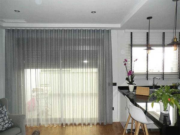 cortinas de cocina modernas